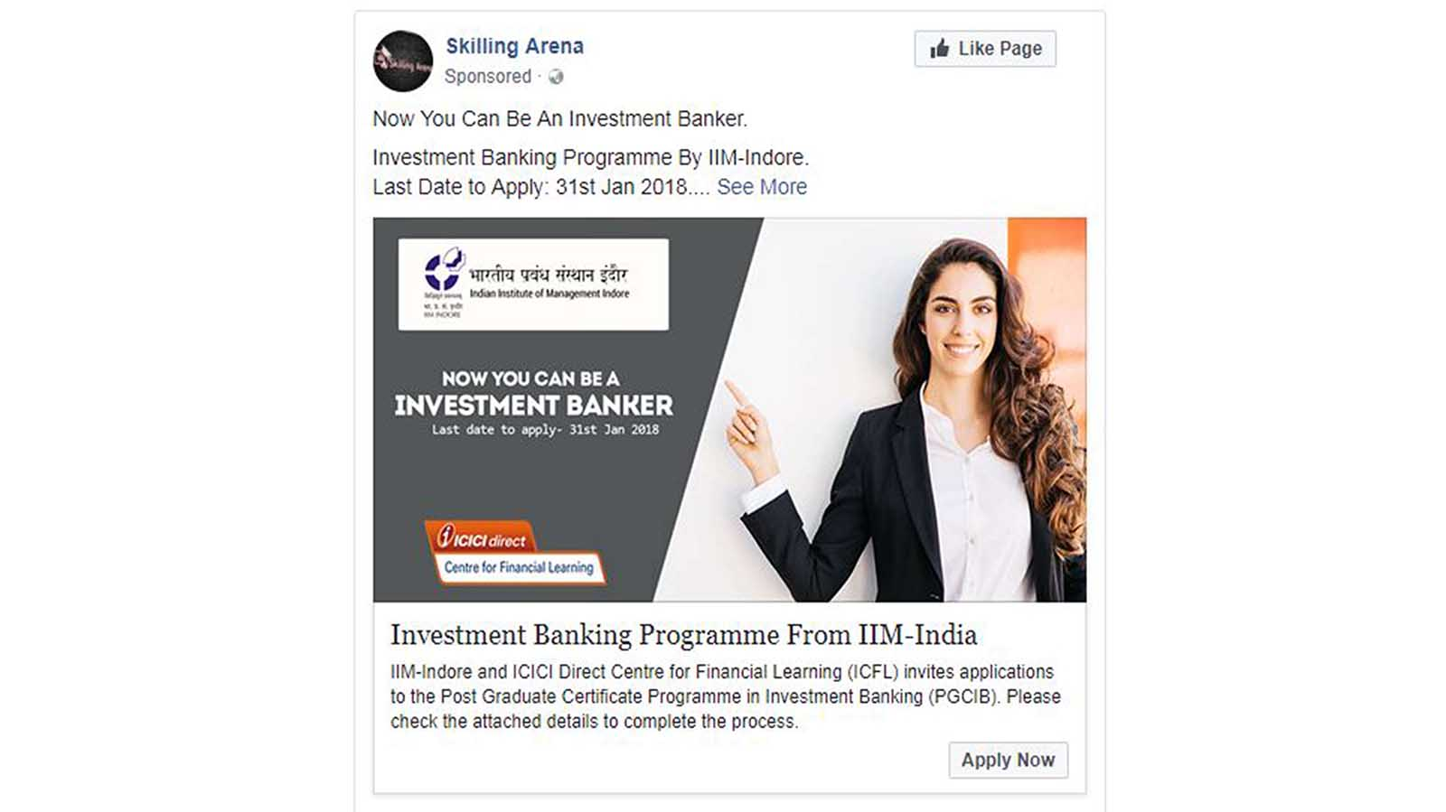 ICICI  Financial Institution